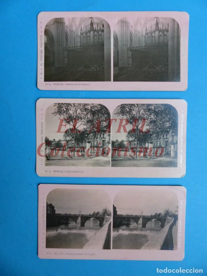 Fotografía antigua: MURCIA - 14 Vistas Estereoscopicas EL TURISMO PRACTICO - Años 1920-30 - VER FOTOS ADICIONALES - Foto 3 - 149848362