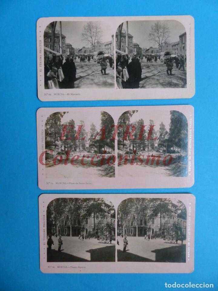 Fotografía antigua: MURCIA - 14 Vistas Estereoscopicas EL TURISMO PRACTICO - Años 1920-30 - VER FOTOS ADICIONALES - Foto 5 - 149848362