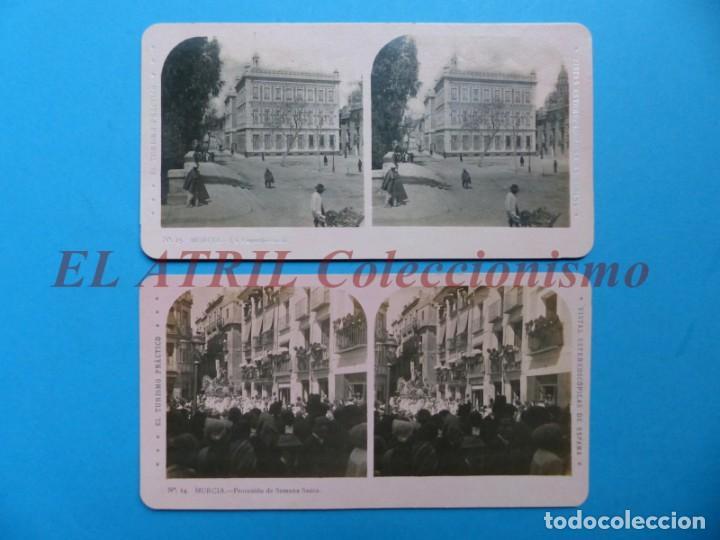 Fotografía antigua: MURCIA - 14 Vistas Estereoscopicas EL TURISMO PRACTICO - Años 1920-30 - VER FOTOS ADICIONALES - Foto 6 - 149848362
