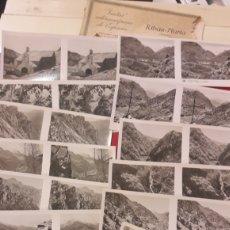 Fotografía antigua: FOTOS RIBAS NURIA GERONA ESTERESCOPIAS 1 SERIE (15). Lote 151229920