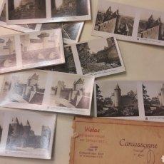Alte Fotografie - Vistas Carcassonne Francia esterescopicas 2 serie (15) - 151379893