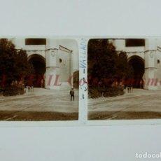 Fotografía antigua: VALLADOLID - VISTA - POSITIVO EN CRISTAL ESTEREOSCOPICO - AÑOS 1920-30. Lote 151483886