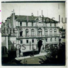 Fotografía antigua: PAU, FRANCE. HOTEL DE VILLE. PYRENEES ATLANTIQUES. POSITIVO ESTEREOSCÓPICO. C. 1910 PYRENEES ATLANTI. Lote 152454414