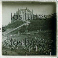 Fotografía antigua: BAYONNE. PAIS BASQUE. PAÍS VASCO FRANCÉS. BELLE ÉPOQUE. PLAYA. C. 1915. Lote 152457554