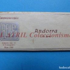 Fotografía antigua: ANDORRA - COLECCION Nº 33 - RELLEV - COMPLETA CON 15 VISTAS. Lote 153194318