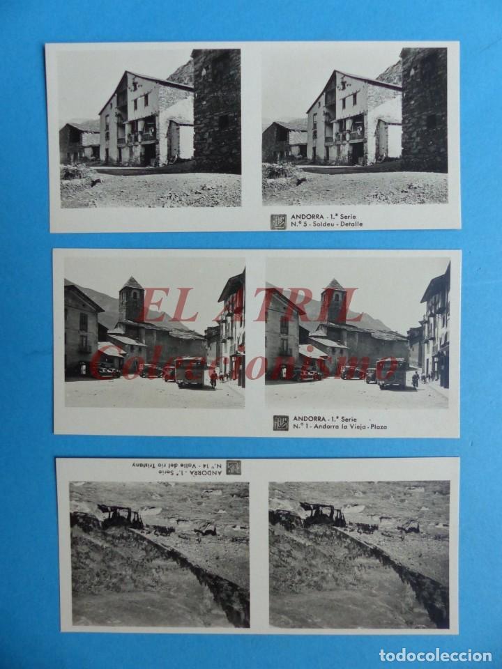 Fotografía antigua: ANDORRA - COLECCION Nº 33 - RELLEV - COMPLETA CON 15 VISTAS - Foto 2 - 153194318
