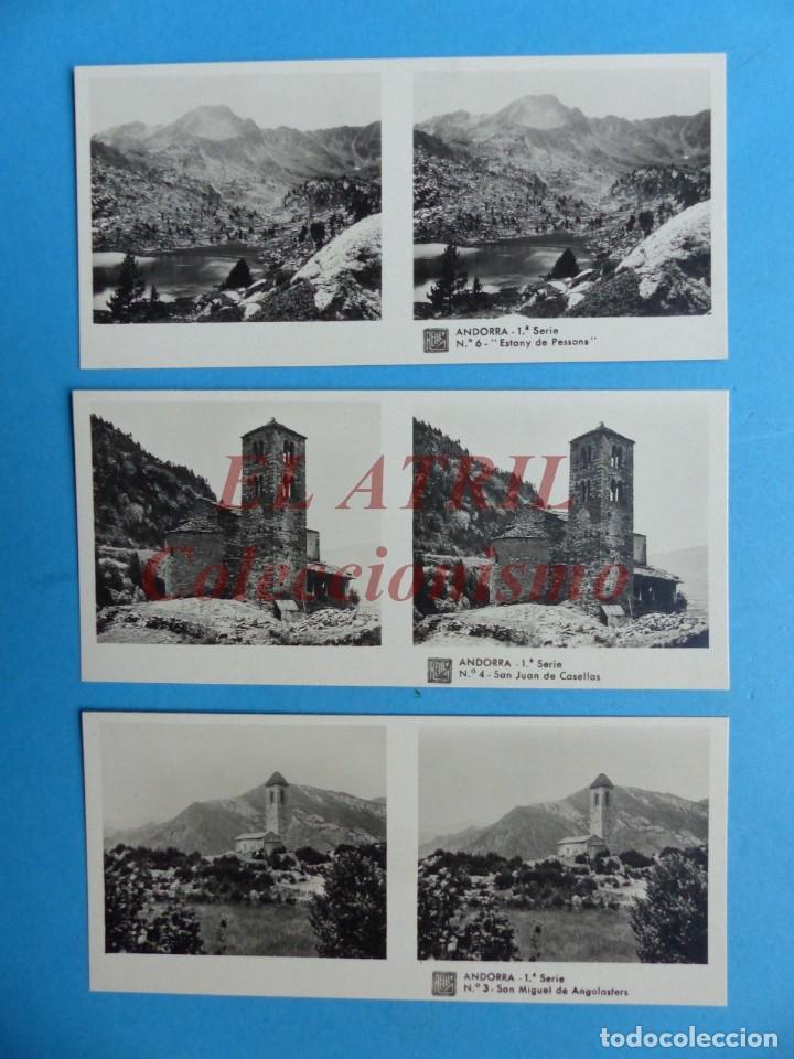 Fotografía antigua: ANDORRA - COLECCION Nº 33 - RELLEV - COMPLETA CON 15 VISTAS - Foto 3 - 153194318