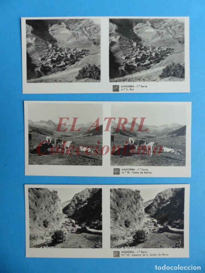 Fotografía antigua: ANDORRA - COLECCION Nº 33 - RELLEV - COMPLETA CON 15 VISTAS - Foto 4 - 153194318