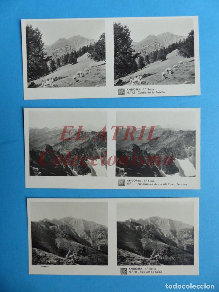 Fotografía antigua: ANDORRA - COLECCION Nº 33 - RELLEV - COMPLETA CON 15 VISTAS - Foto 5 - 153194318