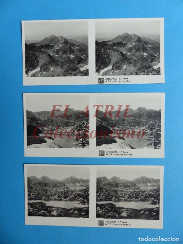 Fotografía antigua: ANDORRA - COLECCION Nº 33 - RELLEV - COMPLETA CON 15 VISTAS - Foto 6 - 153194318