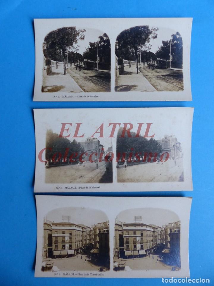 Fotografía antigua: MALAGA - 14 Vistas Estereoscopicas EL TURISMO PRACTICO - Años 1920-30 - VER FOTOS ADICIONALES - Foto 2 - 153208170