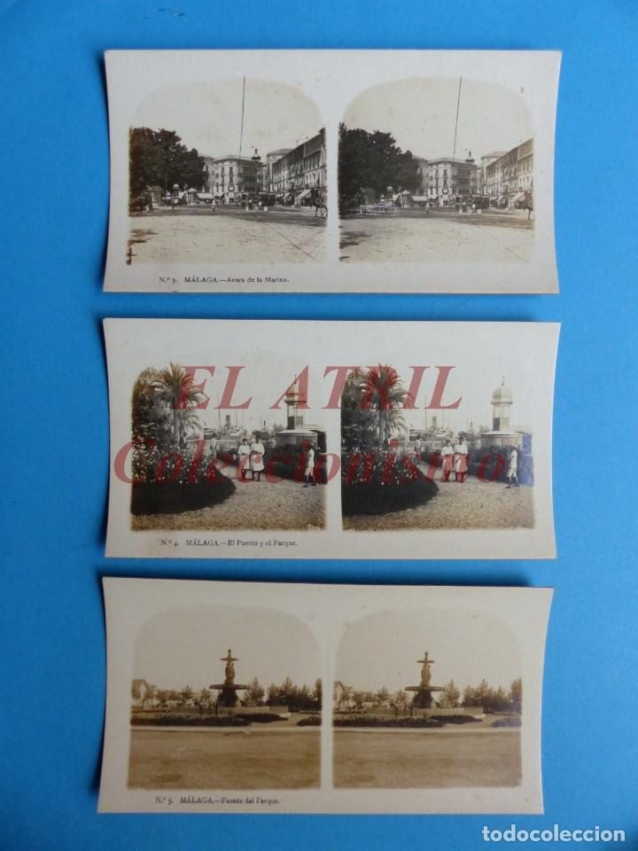 Fotografía antigua: MALAGA - 14 Vistas Estereoscopicas EL TURISMO PRACTICO - Años 1920-30 - VER FOTOS ADICIONALES - Foto 4 - 153208170