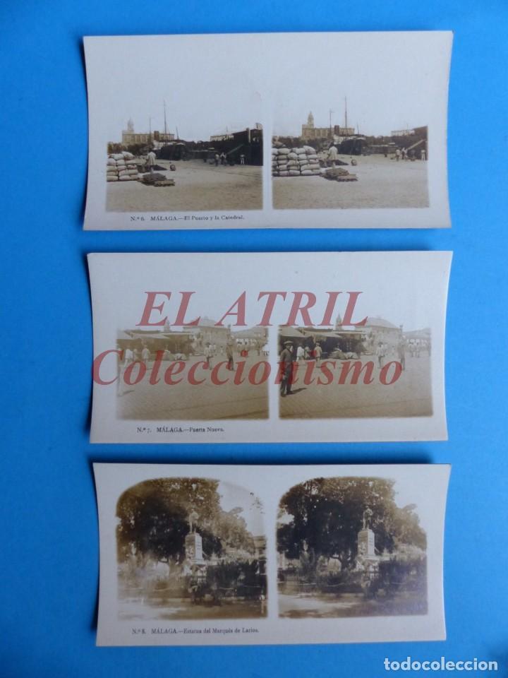 Fotografía antigua: MALAGA - 14 Vistas Estereoscopicas EL TURISMO PRACTICO - Años 1920-30 - VER FOTOS ADICIONALES - Foto 5 - 153208170
