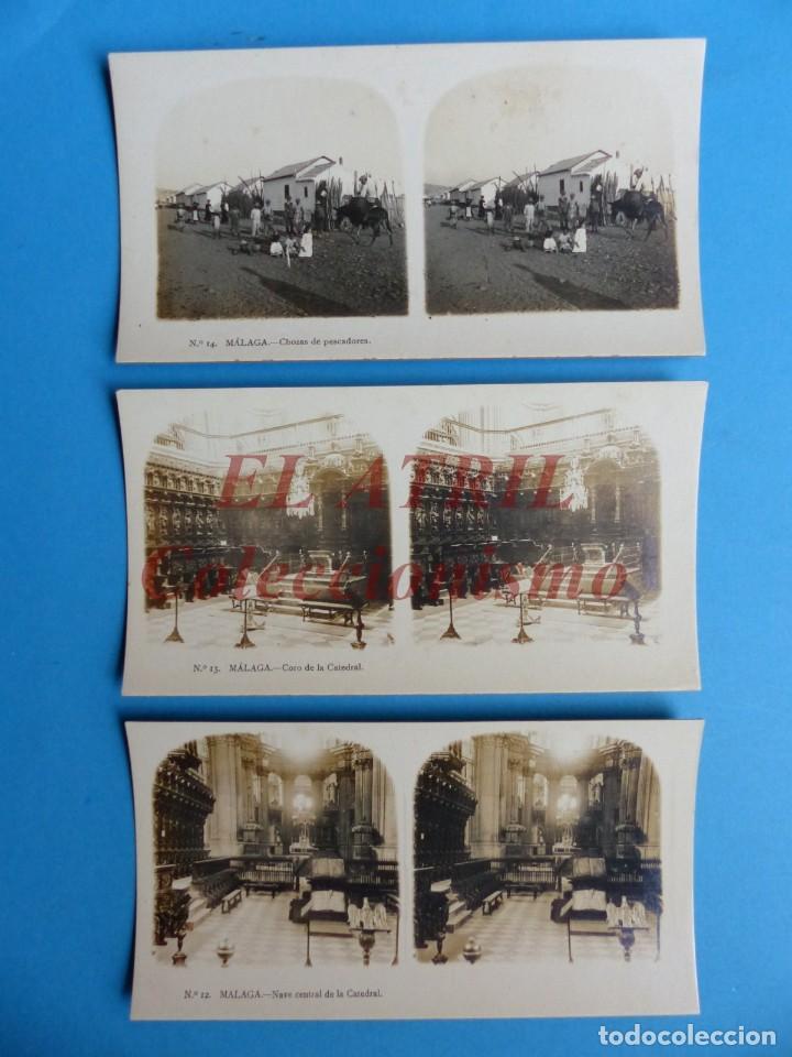 Fotografía antigua: MALAGA - 14 Vistas Estereoscopicas EL TURISMO PRACTICO - Años 1920-30 - VER FOTOS ADICIONALES - Foto 6 - 153208170