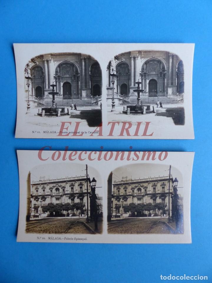 Fotografía antigua: MALAGA - 14 Vistas Estereoscopicas EL TURISMO PRACTICO - Años 1920-30 - VER FOTOS ADICIONALES - Foto 7 - 153208170
