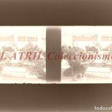 Fotografía antigua: BURJASOT, VALENCIA Ó CUEVA SANTA - NEGATIVO EN CRISTAL ESTEREOSCOPICO - AÑOS 1920. Lote 153697890