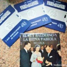 Fotografía antigua: BODA DE BALDUINO Y FABIOLA. 3 VISTAS ESTEREOSCÓPICAS.. Lote 153706546