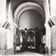 Old photograph - FOTOGRAFIA ESTEREOSCOPICA EN CRISTAL DE INTERIOR DE IGLESIA, NO LOCALIZADA, AÑOS 20, POSITIVO, MIDE - 153911610