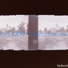 Fotografía antigua: VALENCIA - PALACIO DE RIPALDA - NEGATIVO EN CRISTAL ESTEREOSCOPICO - AÑOS 1920-30. Lote 154065862