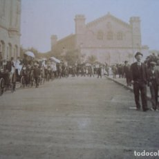 Fotografía antigua - (ES-190339)FOTOGRAFIA ESTEREOSCOPICA DE BARCELONA-FESTAS DE LA MERCE 1902...AL PARK.R.MIQUEL - 155283674