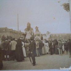 Fotografía antigua - (ES-190330)FOTOGRAFIA ESTEREOSCOPICA DE BARCELONA-FESTAS DE LA MERCE 1902.GEGANTS.J.MIQUEL - 155285590