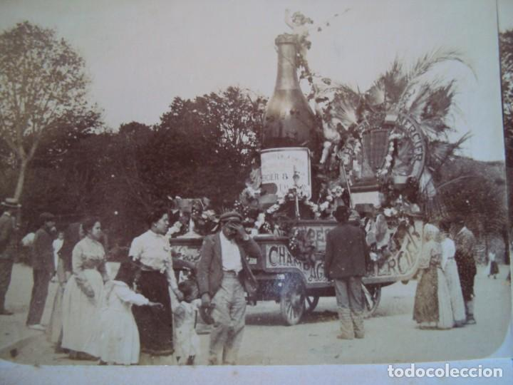 (ES-190308)FOTOGRAFIA ESTEREOSCOPICA DE BARCELONA-CABALGATA.J.MIQUEL (Fotografía Antigua - Estereoscópicas)
