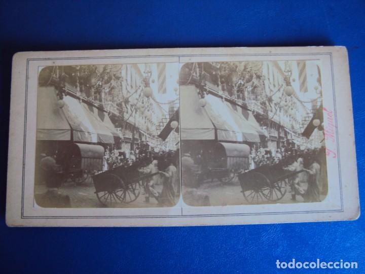 Fotografía antigua: (ES-190307)FOTOGRAFIA ESTEREOSCOPICA DE BARCELONA-CALLE FERNANDO.J.MIQUEL - Foto 2 - 155328798