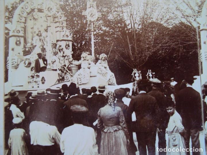 (ES-190305)FOTOGRAFIA ESTEREOSCOPICA DE BARCELONA-CABALGATAJ.MIQUEL (Fotografía Antigua - Estereoscópicas)