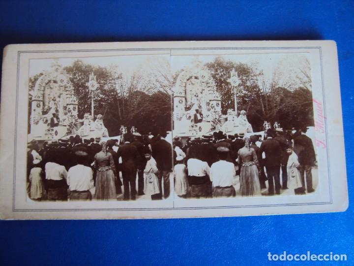 Fotografía antigua: (ES-190305)FOTOGRAFIA ESTEREOSCOPICA DE BARCELONA-CABALGATAJ.MIQUEL - Foto 2 - 155329070