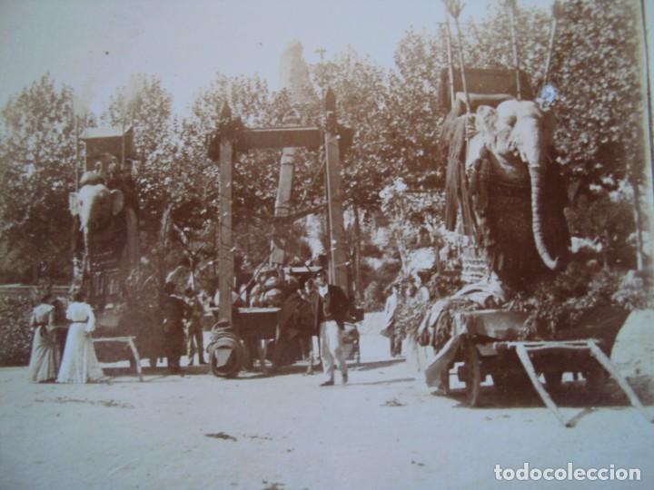 (ES-190302)FOTOGRAFIA ESTEREOSCOPICA DE BARCELONA-CABALGATA.J.MIQUEL (Fotografía Antigua - Estereoscópicas)
