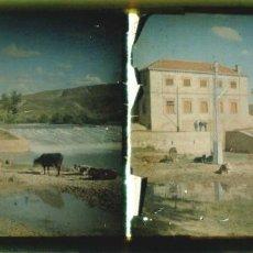 Fotografía antigua: AUTOCROMO - MADRID - RIO JARAMA - 1910'S. Lote 155757718