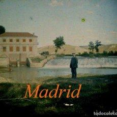 Fotografía antigua: AUTOCROMO - MADRID - RIO JARAMA - 1910'S. Lote 155757982