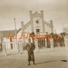 Fotografía antigua: ARANJUEZ - LA FLAMENCA - 1920'S - NEGATIVO DE CELULOIDE . Lote 155759622