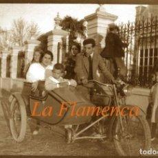 Fotografía antigua: ARANJUEZ - LA FLAMENCA - 1920'S - NEGATIVO DE CELULOIDE . Lote 155759838
