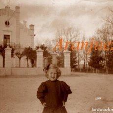 Fotografía antigua: ARANJUEZ - LA FLAMENCA - 1915 - POSITIVO DE VIDRIO . Lote 155787138