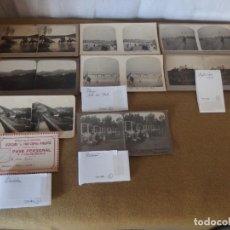 Fotografía antigua: COLECCIÓN FAMILIAR DE 64 FOTOGRAFÍAS ESTEREOSCÓPICAS. Lote 156126234