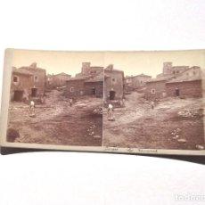 Old photograph - ESTEREOSCÓPICA.- BURGOS.- LOS ZEMAROS - 156556682