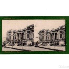 Old photograph - ESTEREOSCÓPICA.- MADRID.- MUSEO DE PINTURA ENTRADA. FOTOTIPIA. LAURENT. - 156773170