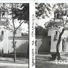 Fotografía antigua: SEVILLA CRISTAL POSITIVO ESTEREOSCOPICO. Lote 159329730