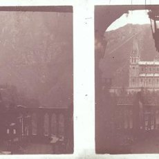 Fotografía antigua: COVADONGA CRISTAL POSITIVO ESTEREOSCOPICO. Lote 159643766