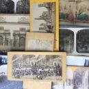 Fotografía antigua: LOTE DE VISTAS ESTEREOSCOPICAS. Lote 159664724