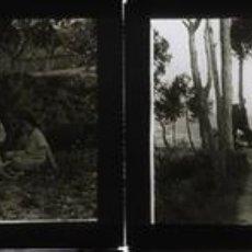 Fotografía antigua: ALCOY 2 POSITIVOS CRISTAL ESTEREOSCOPICA. Lote 159718406