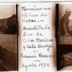 Fotografía antigua: ROSAS CRISTAL ESTEREOSCÓPICO POSITIVO. Lote 159953126