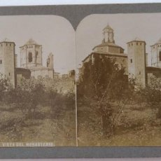 Fotografía antigua: MONASTERIO DE POBLET. Lote 160008582