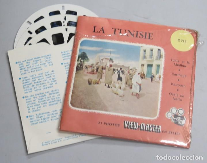 LA TUNISIE. VIEW-MASTER (Fotografía Antigua - Estereoscópicas)