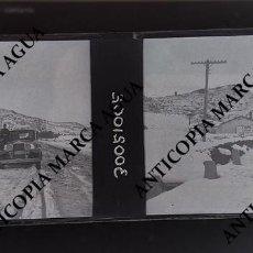 Fotografía antigua: FOTOGRAFÍA ESTEREOSCOPICA BUÑOL PRINCIPIOS S.XX 1920/30 NEGATIVO EN CRISTAL. Lote 162421626