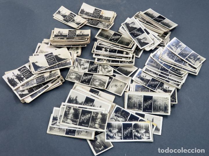 Fotografía antigua: Visor estereoscópico Imperial hojalata litografiada con 176 vistas estereoscópicas PP S XX - Foto 9 - 162931390