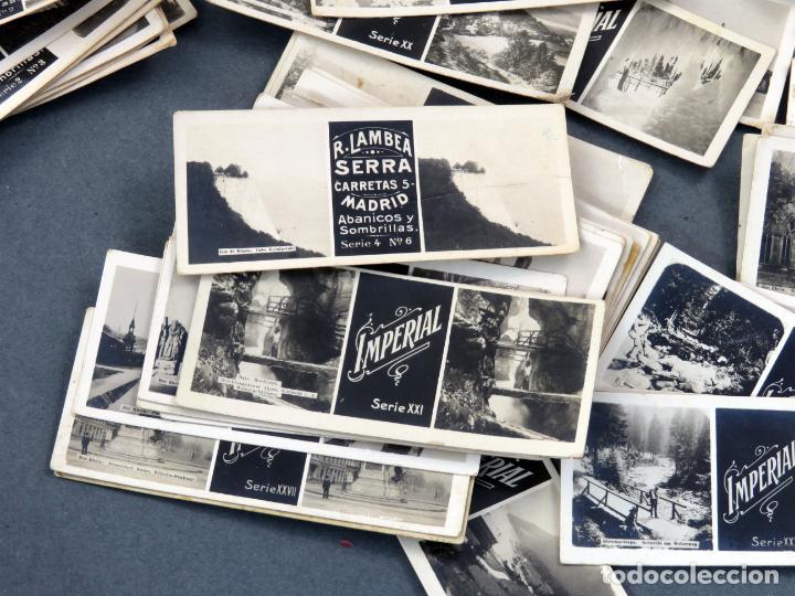 Fotografía antigua: Visor estereoscópico Imperial hojalata litografiada con 176 vistas estereoscópicas PP S XX - Foto 10 - 162931390
