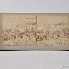 Fotografía antigua: MADRID.- OREO EN LA PLAZA DE SAN MARCIAL. FIESTA DE LA CORONACIÓN ALFONSO XIII.. Lote 164812882