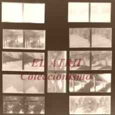 Fotografía antigua: 13 VISTAS ESTEREOSCOPICAS DIFERENTES CRISTAL NEGATIVO - AÑOS 1910-20, VER FOTOS ADICIONALES. Lote 165088974